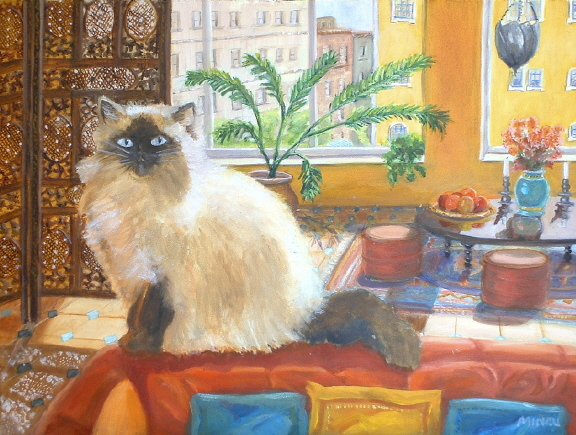 Bula at Home: Himalayan Cat