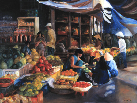 Early Morning Market
